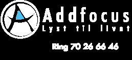 Addfocus - lyst til livet